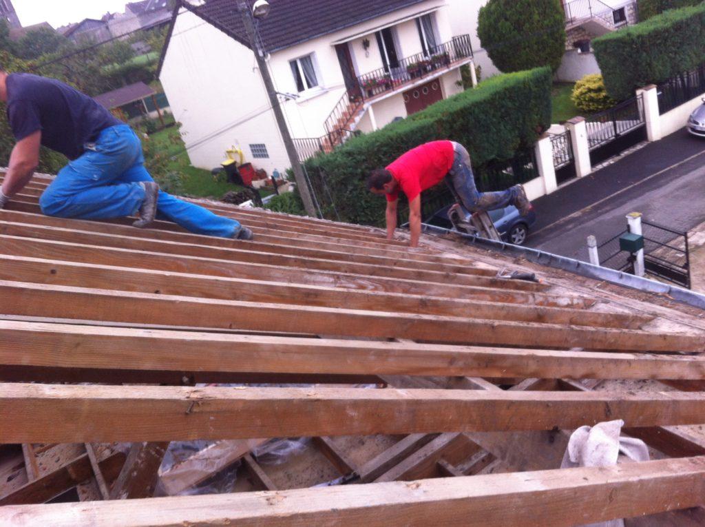 Réfection / rénovation Toiture - Gauthier - couvreur 91