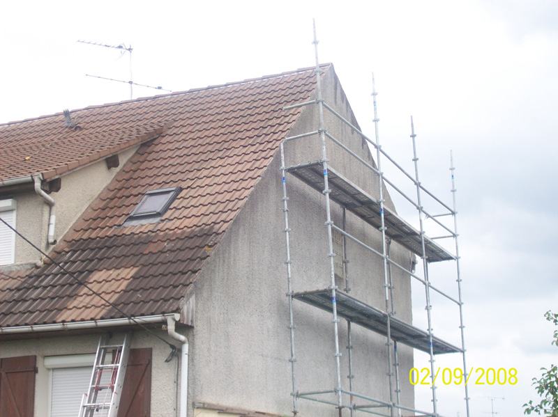 rénovation facade toiture - 91 Essonne
